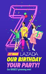 Lazada - Birthday Sale Party 27 Mar APK screenshot thumbnail 1