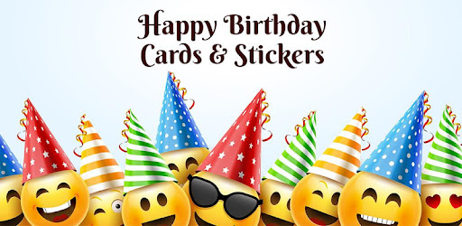 Happy Birthday Stickers Cards