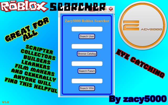 Roblox Extensions For Browser Roblox Searcher