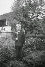 Photo: Franz(i) der Erstkommunikant.