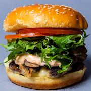 Mushroom Burger Combo