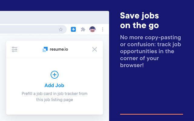 Resume.io: Job Tracker