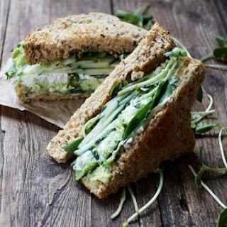 Green Goodness Sandwich.
