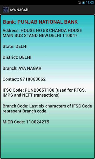 Bank IFSC MICR SWIFT Code
