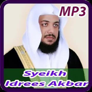 Syeikh Idrees Akbar Offline Mp3 - náhled