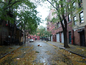 Photo: the afternoon before Sandy came, in Greenwich Village,