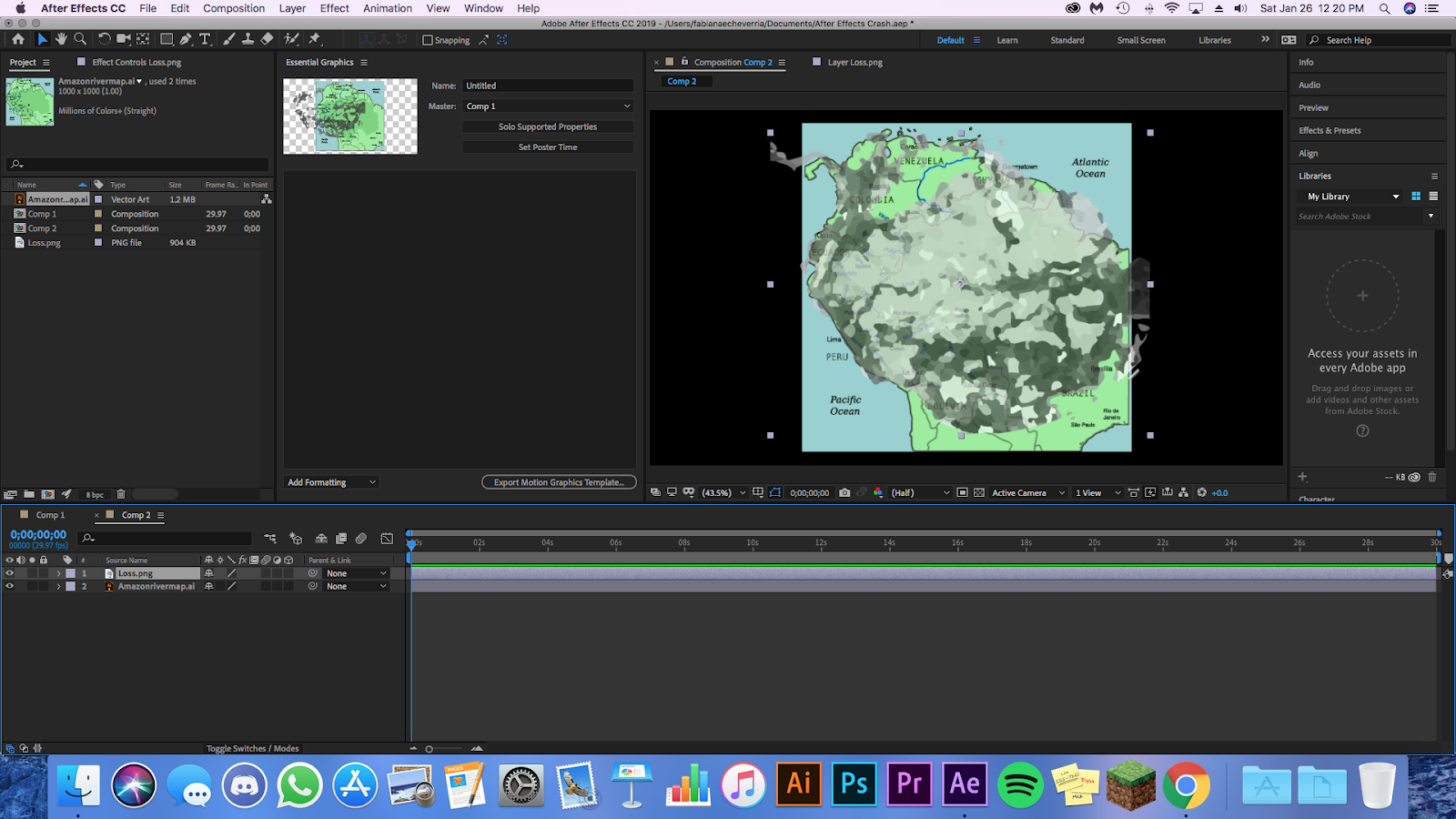 How to animate a map in Adobe After Effects - Storybench