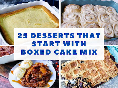 25 Desserts That Start With Boxed Cake Mix