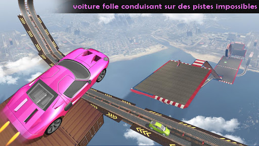 Code Triche impossible pistes voiture cascades au volant: Jeux apk mod screenshots 2