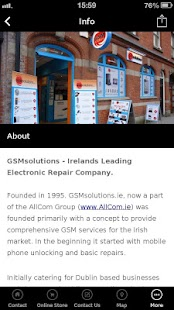 GSMsolutions.ie- screenshot thumbnail
