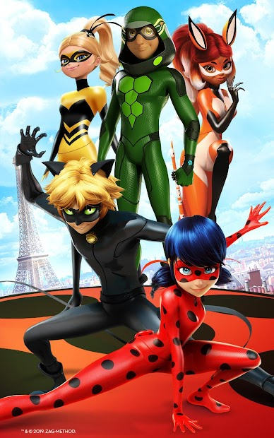 Miraculous Ladybug & Cat Noir - The Official Game Android App Screenshot