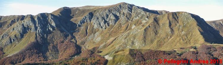Photo: Panorama 1 zoom versante nord Sasso Fratto e Prado e Cipolla