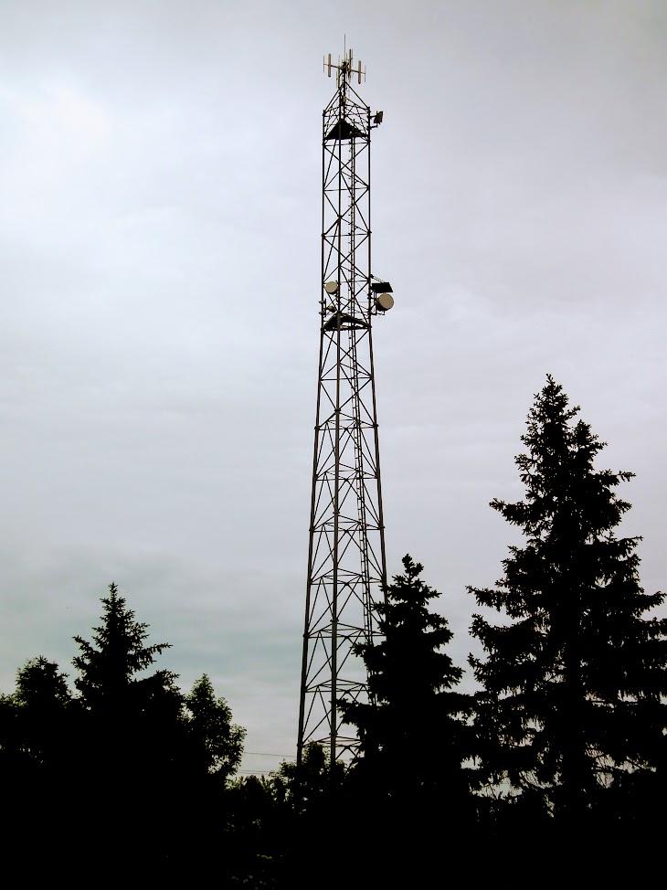 Sárvár/Ipartelep utca - helyi URH-FM adóállomás