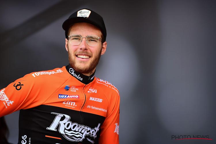 Nederlandse aanvaller van Roompot verschalkt peloton in Baloise Belgium Tour