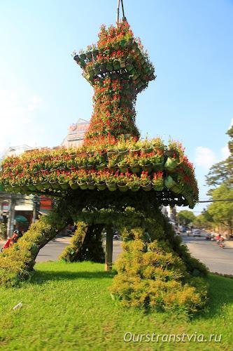 Достопримечательности Вьетнама - горный Далат