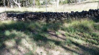 Photo: Tuggeranong Boundary or Stone Wall