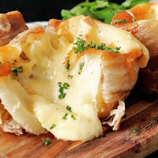 Raclette Cheese Potatoes.