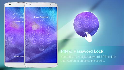 Lock Screen Galaxy Theme screenshot 4