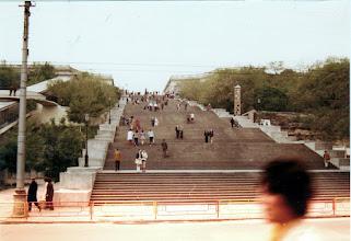 Photo: Odessan portaat Потьо́мкінські схо́ди Потёмкинская лестница