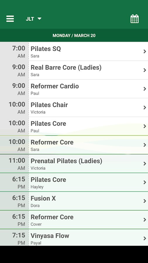 Real Pilates- screenshot
