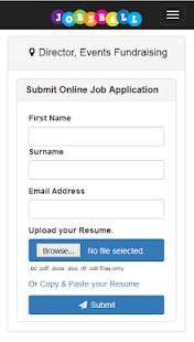 Jobsball Jobs- screenshot thumbnail