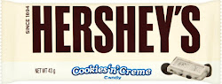 Hershey's Chocolate Bar - Cookies & Creme, 43g
