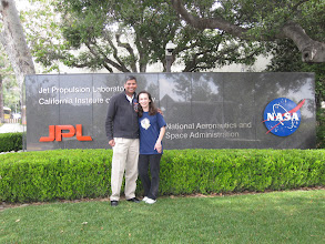 Photo: With Laksen at the JPL