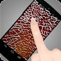 fake cracked broken screen icon