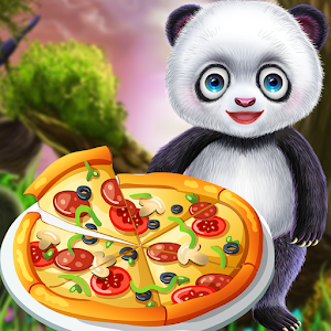 Panda Chef's Kitchen Pizza Cooking