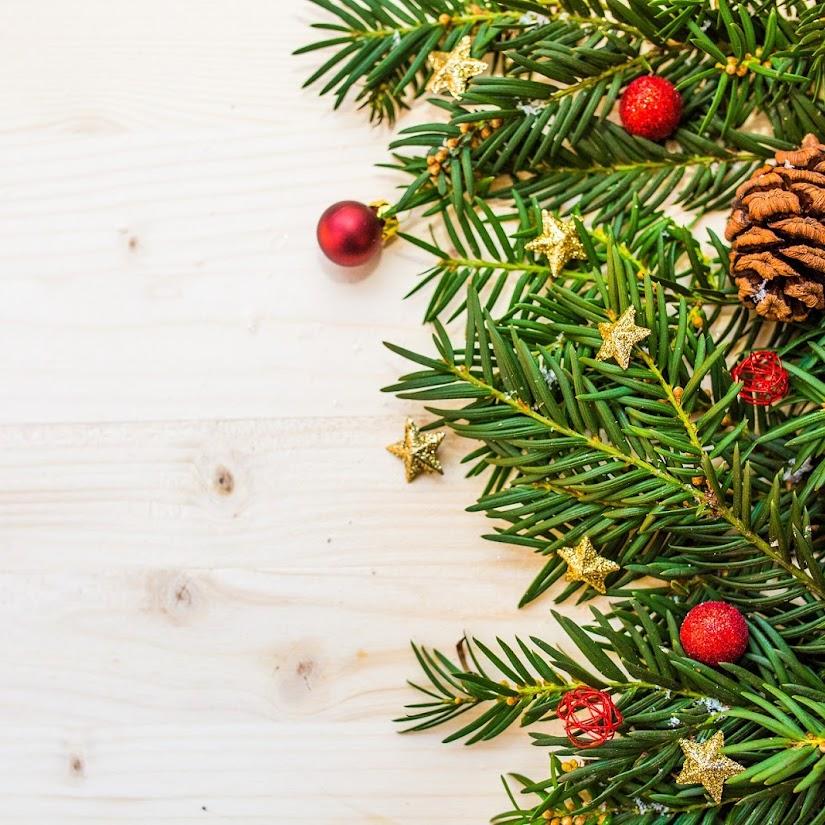 Toque floral en la decoración navideña del hogar