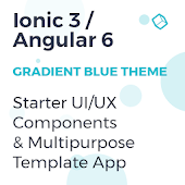 Ionic 3 UI/UX Components & Multipurpose Template