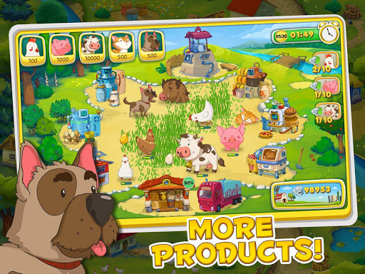 Jolly Days Farm: Time Management Game screenshots 3