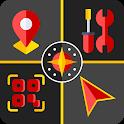 Smart Tools : Digital Compass - QR code Reader icon