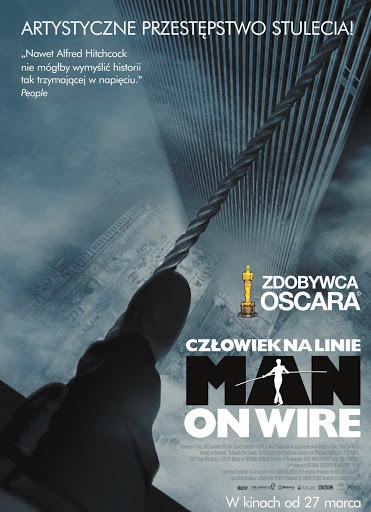 Polski plakat filmu 'Człowiek Na Linie'