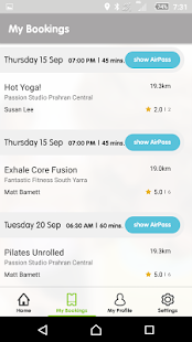 AirActive: Find+Book Workouts- screenshot thumbnail