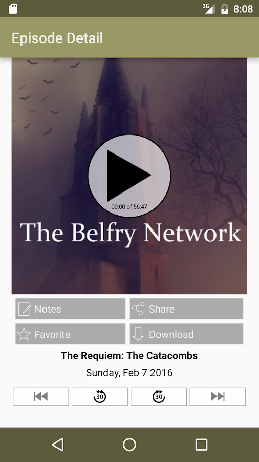 The Belfry Network- screenshot