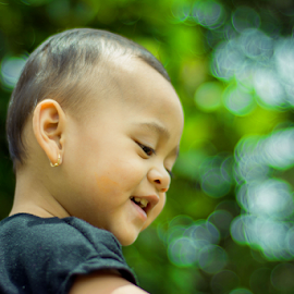 Laughter by Kriswanto Ginting's - Babies & Children Children Candids ( children, candid, bokeh, nikon d7100, laughter,  )