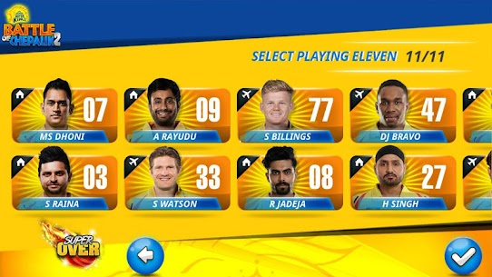 Chennai Super Kings Battle Of Chepauk 2 MOD (Ad Free/Unlimited Tickets) 3