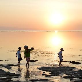 Tides out by Karyn Leong - Babies & Children Children Candids ( bali, sanur,  )