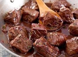 Beef Tips In Red Wine Sauce Recipe