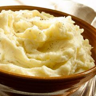 Super-Moist & Creamy Mashed Potatoes.