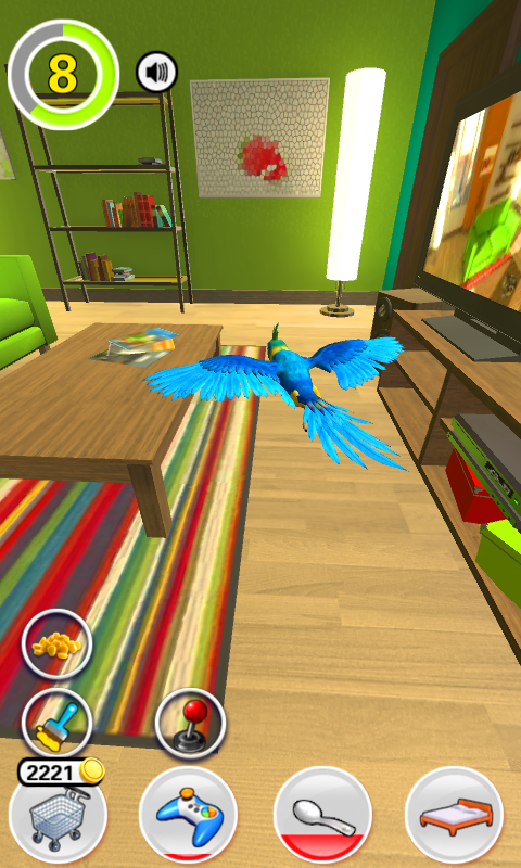 My Talking Parrot- screenshot