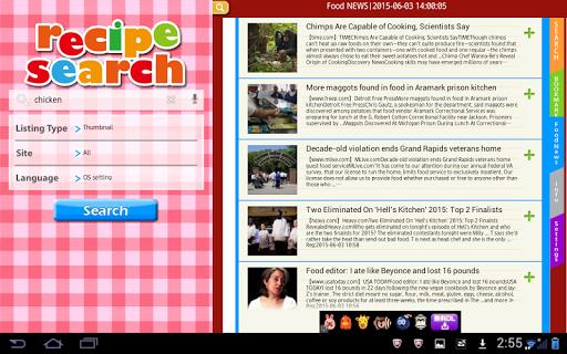 Recipe Search for Tab 3.2.11 Windows u7528 4