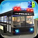 Police Bus Cop Transport icon