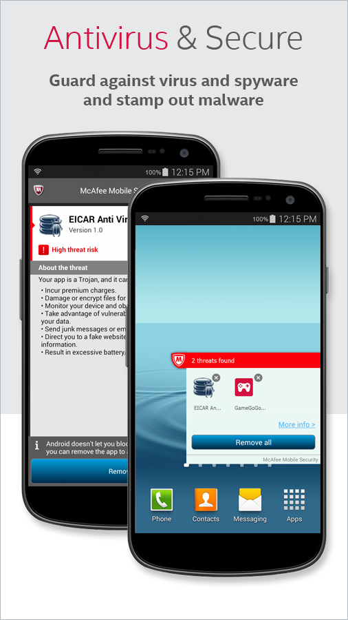 Cell Phone Antivirus App