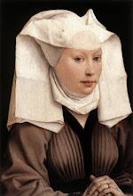 Photo: Lady Wearing a Gauze Headdress, c. 1445