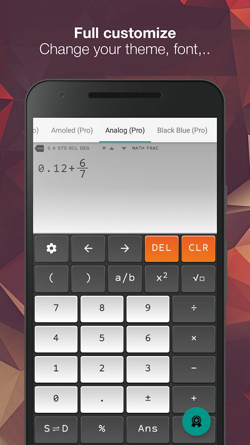 Natural Scientific Calculator N+ FX 570 ES/VN PLUS- screenshot