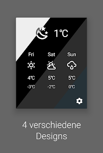 Wetter Quick Settings Tile Screenshot