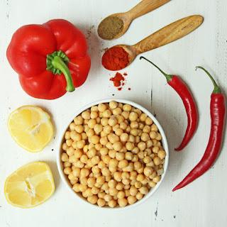 Red Chili Pepper Hummus Recipes