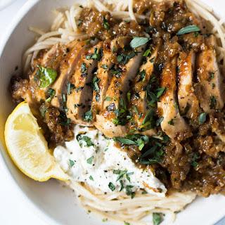 30-Minute Tarragon Chicken Pasta.